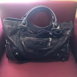 COPY - large leather tote